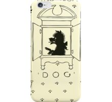 The Mother Hubbard Picture Book by Walter Crane - Plate 27 - And Her Dog iPhone Case/Skin