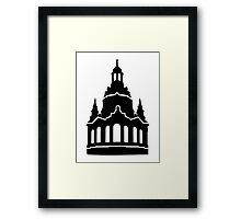 Dresden Church of Our Lady Framed Print