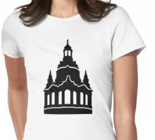 Dresden Church of Our Lady Womens Fitted T-Shirt