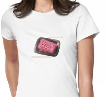 beta pong Womens Fitted T-Shirt