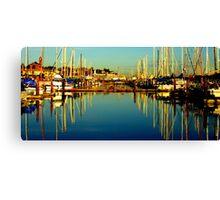 Marina #1 ~ Port Townsend, Washington ~ Canvas Print
