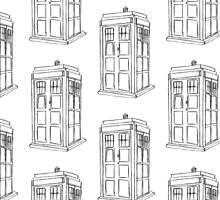 It's a police box... by SashDoesDoodles