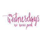 On Wednesday's We Wear Pink by ernieandbert