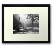 Melting February Framed Print