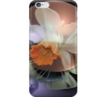 Daffodil in a water bubble iPhone Case/Skin