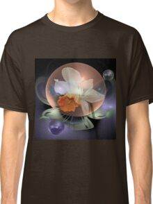 Daffodil in a water bubble Classic T-Shirt