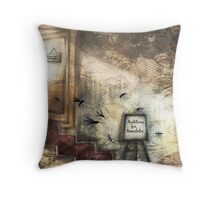 Mosquito audition Throw Pillow