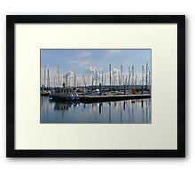 Port Townsend Marina  Framed Print
