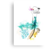 Dreamy Emu Canvas Print