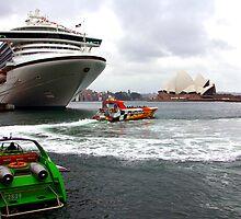 Sydney's Circular Quay by John Mitchell
