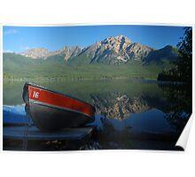 Boat Hire - Patricia Lake Poster