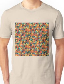 Colorful Triangle Pattern Unisex T-Shirt