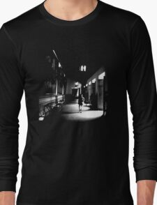 She Walks the Halls Long Sleeve T-Shirt