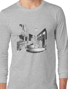 She Walks the Halls Long Sleeve T-Shirt