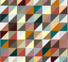Colorful Triangle Pattern Sticker