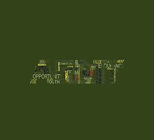 Army Logo Word Cloud by Kryticalv
