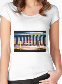 Retro Car #6 Women's Fitted Scoop T-Shirt