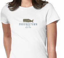 Provincetown - Cape Cod. Womens Fitted T-Shirt