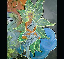 Internal Foliage • From Chalk Meditation #12 • December 2006 by Robyn Scafone