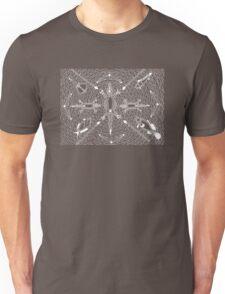 Mayoorr - natural permanent fish trap / Simply white  Unisex T-Shirt