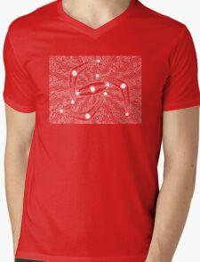 Irrgil / Marrga - boomerang - shield / Simply white  Mens V-Neck T-Shirt