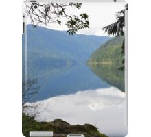 Lake Crescent, Washington iPad Case/Skin