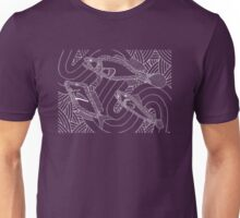 Aarli - school of fish / Simply white  Unisex T-Shirt