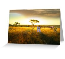OUT OF AFRICA Greeting Card