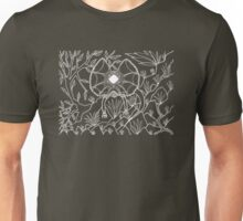 Goolaman - frilled lizard / Simply white  Unisex T-Shirt