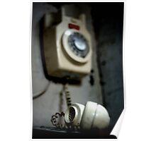 Vintage Phone Poster