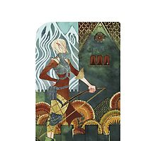 Dragon Age Tarot Card Optimized - Sera by packmama