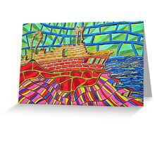 250 - PASSING THROUGH - DAVE EDWARDS - COLOURED PENCILS - 2009 Greeting Card