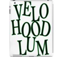 Velo Hoodlum - MOTIVES iPad Case/Skin