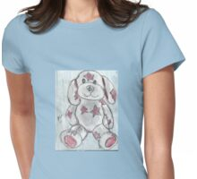 Bear-y Cute Womens Fitted T-Shirt