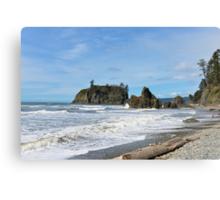 Ruby Beach, Olympic Peninsula, Washington State Canvas Print