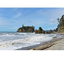 Ruby Beach, Olympic Peninsula, Washington State Photographic Print