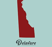 Delaware - States of the Union by Michael Bowman