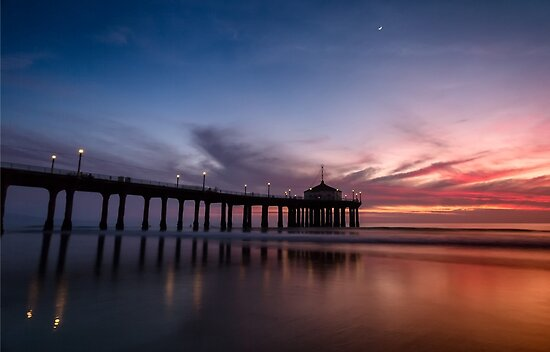 Manhattan Beach Sunset #4 by Graham Gilmore