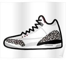 Air Jordan Retro 3 Poster