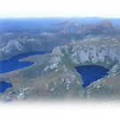 Cradle Mt aerial shot - too small for sale, but viewing interest - YES by gaylene