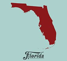Florida - States of the Union by Michael Bowman