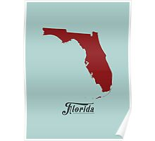 Florida - States of the Union Poster