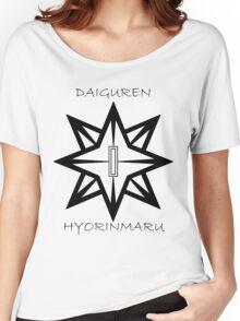 Bleach Toshiro Daiguren Hyorinmaru Guard Women's Relaxed Fit T-Shirt