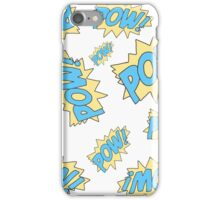 Pow! iPhone Case/Skin