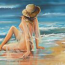 On the Beach by Vickyh