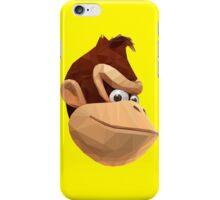 Donkey Kong - Triangulation Vector iPhone Case/Skin
