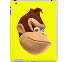 Donkey Kong - Triangulation Vector iPad Case/Skin
