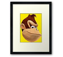 Donkey Kong - Triangulation Vector Framed Print