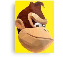 Donkey Kong - Triangulation Vector Metal Print