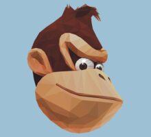 Donkey Kong - Triangulation Vector One Piece - Short Sleeve